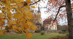 Herbst im Schlosspark Machern