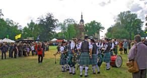 Bilder der 10. Internationalen Highland Games in Machern