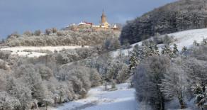 Winter auf der Leuchtenburg