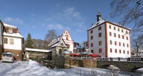 Schloss Kochberg im Winterkleid