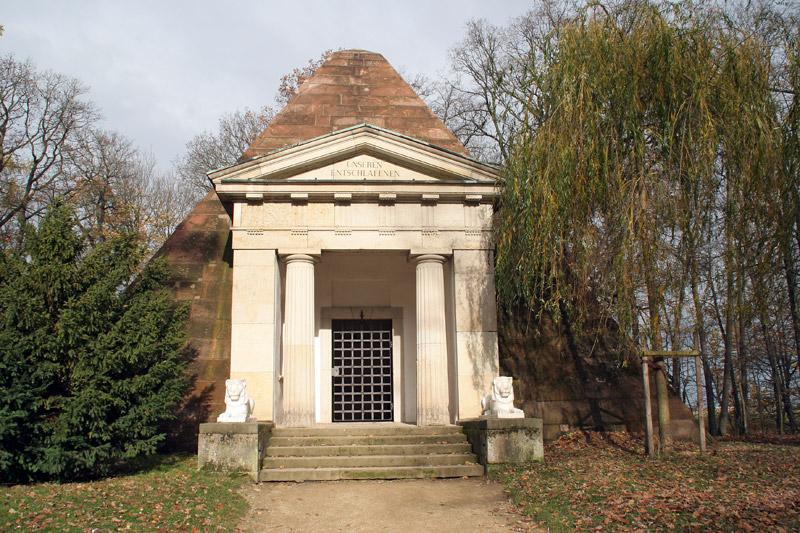 Der Tempel im Park Machern