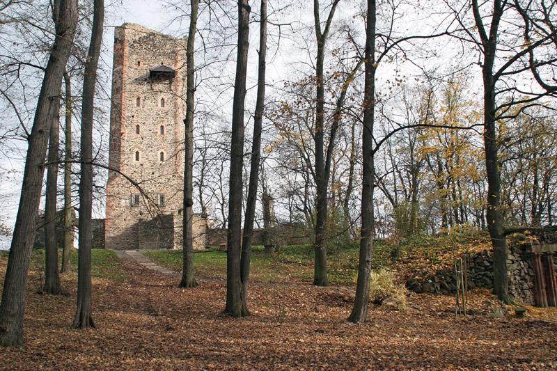 Ritterburg im Schlosspark Machern
