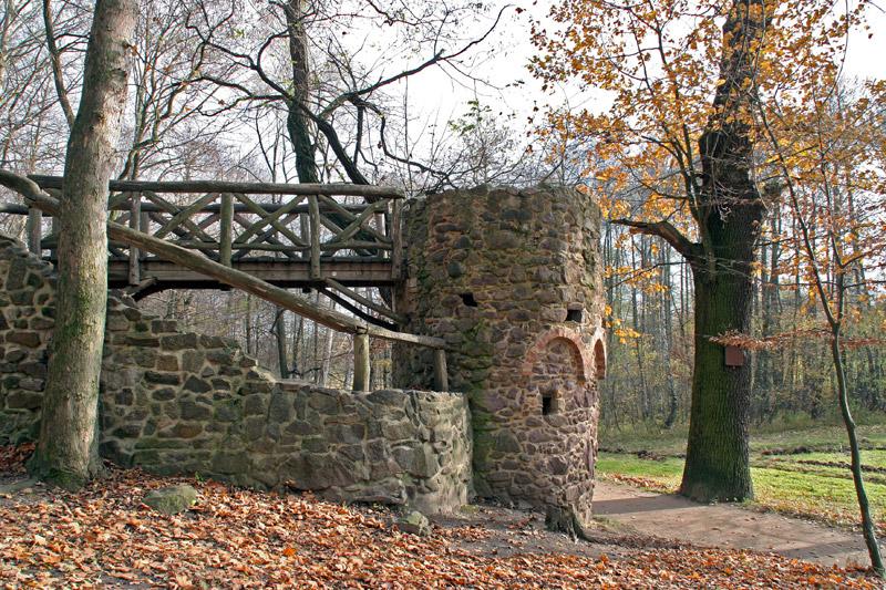 Im Schlosspark Machern