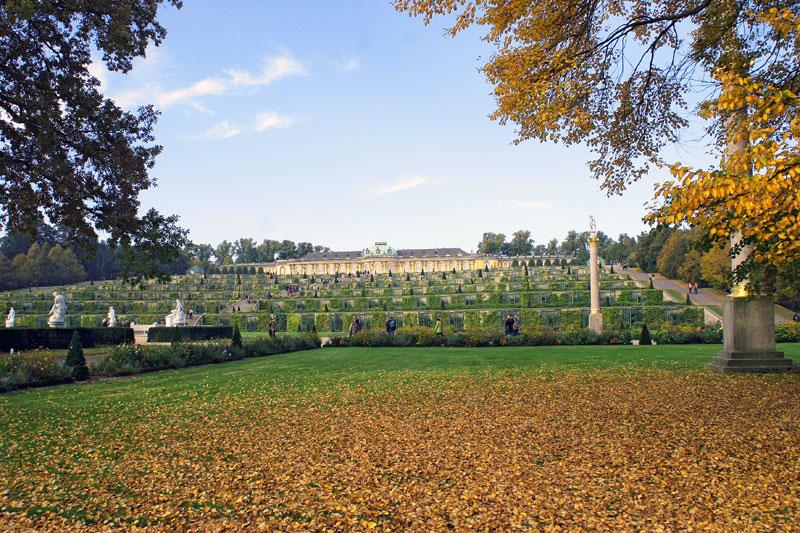 Herbstliches Sanssouci
