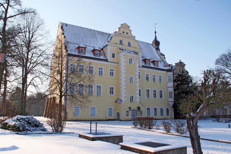 Das Schloss im Schnee