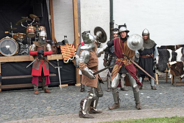 Thueringer Ritterorden im Schaukampf