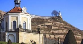 Schloss Wackerbarth mit weihnachtlichem Flair