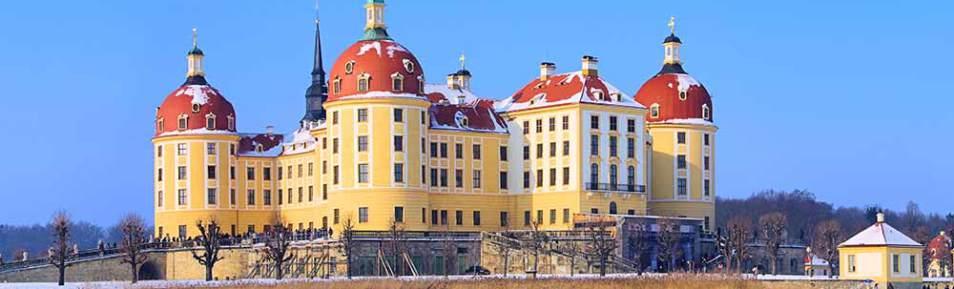 Weihnachtszeit auf Schloss Moritzburg