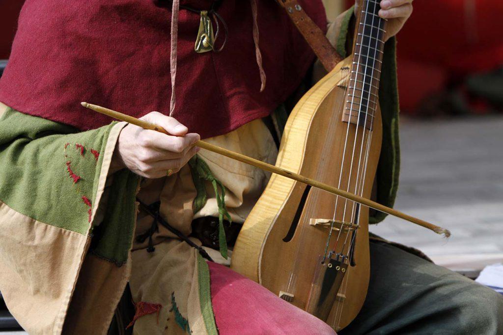 Mittelalerliche Musikanten