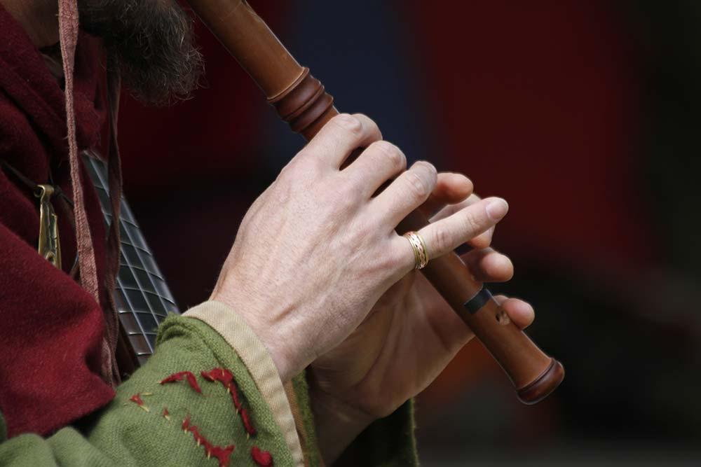 Mittelalterliche Flötentöne