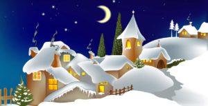 Weihnachten auf einer Burg