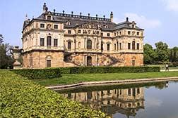 Der Große Garten In Dresden